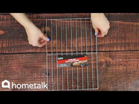 DIY Organizing Hacks to Make With Dollar Store Cooling Racks