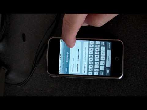 How to configure Exchange on iPhone