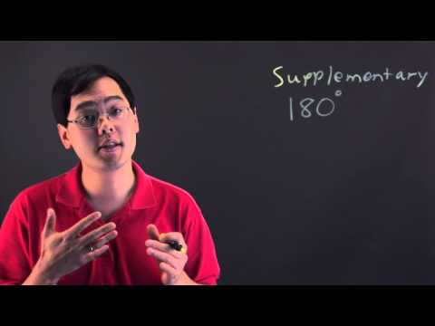 Define Supplementary Angles