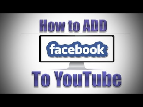 How to Add Facebook Link to YouTube Channel