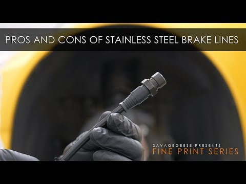 Are Stainless Steel Brake Lines Worth It? | The Fine Print