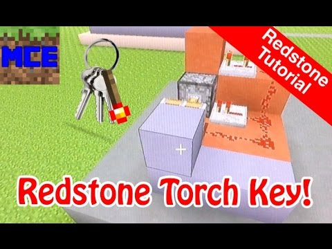 Super Compact Redstone Torch Key ( PS / XBOX ) [ Tutorial ]