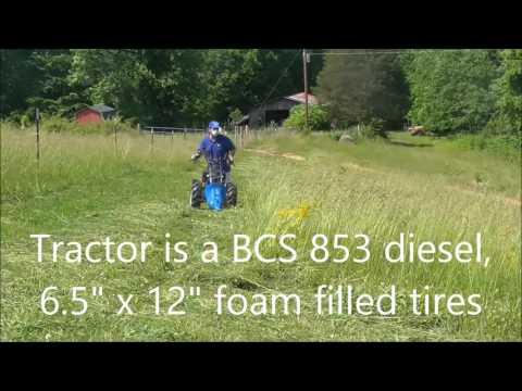 BCS dual action/duplex sickle bar cutting for Hay