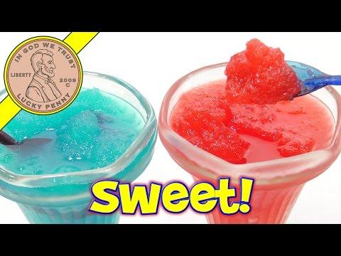 Slush Puppie Blue Raspberry & Strawberry, Slushy In A Bag!