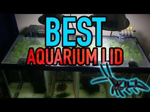 BEST FISH TANK LID FOR AQUARIUM! || DIY Cheap & Easy To Make! || Custom Aquarium Lids