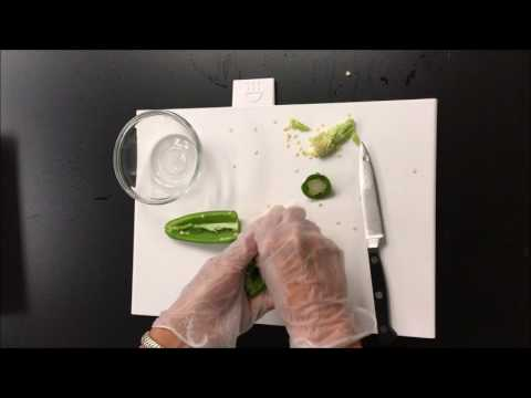 How to Safely Cut Hot Peppers
