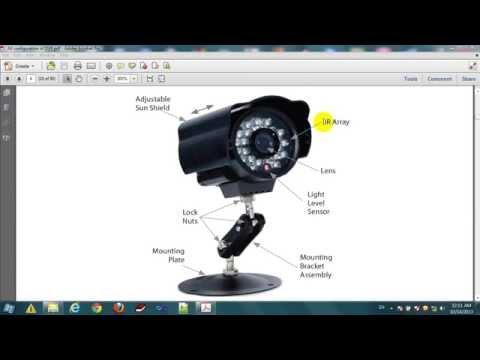 how to config dvr to internet || dvr camera security system setup || dvr configuration static ip