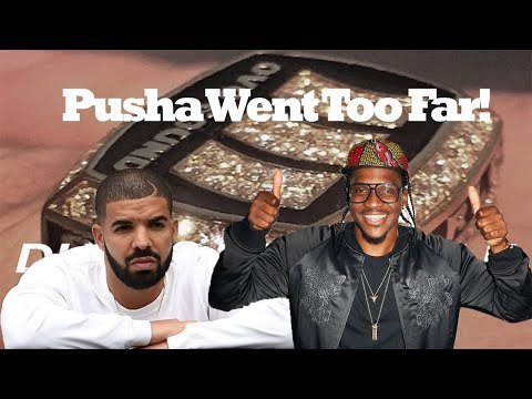 Pusha T Responds With PERSONAL DISS TRACK To Drakes 'Duppy Freestyle