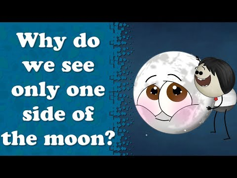Why do we see only one side of the moon? | It's AumSum Time