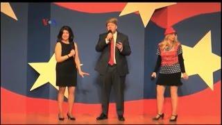 Capitol Steps, Kelompok Komedi Satir Politik di Washington DC - Liputan Feature VOA
