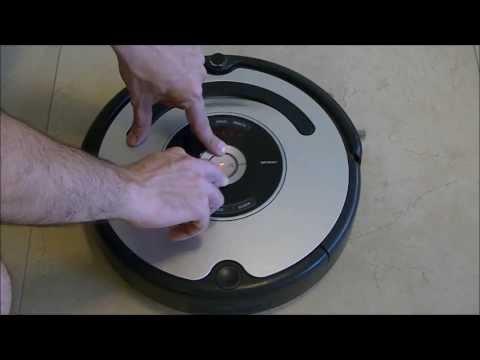 IRobot Roomba 500 series  Built In Test Bumper Sensors