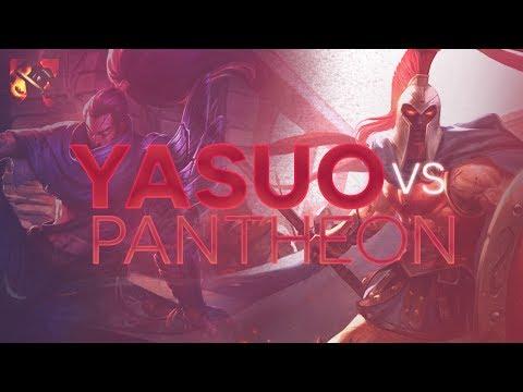 Yasuo TOP - Yasuo vs Pantheon Patch 7.10 (Fervor)