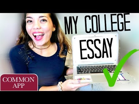 READING MY COMMON APP ESSAY + TIPS FOR YOUR COLLEGE ESSAY!