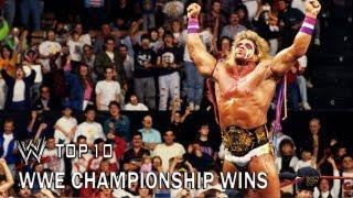 WWE Championship Wins - WWE Top 10