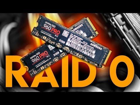 Setting Up NVMe RAID On AMD Threadripper - INSANE Speeds!