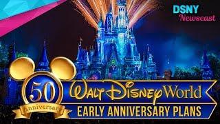 Walt Disney World's 50th Anniversary Celebration Plans for 2021 - Disney News - 6/4/17