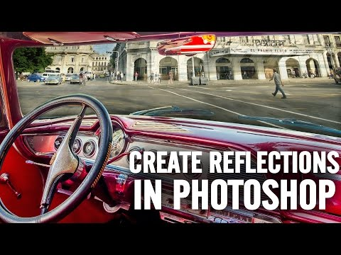 Create reflections in Photoshop