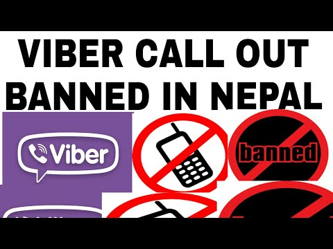 Viber call out banned in nepal | viber offline call banned in nepal | viber banned by nepal telicome