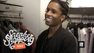 A$AP Rocky Goes Shopping With Complex At Maxfield