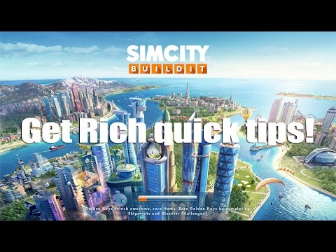 Easy Get Rich Quick in SimCity BuildIt (iOS/Android)
