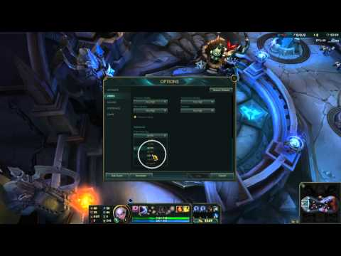 How to cap frame rate in league of legends