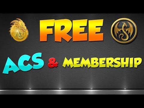 AQW How To Get Free Acs and Membership 2017