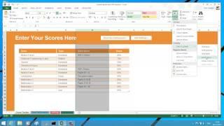 Hide Or Unhide Rows Columns Worksheet And Workbook In Excel 2013