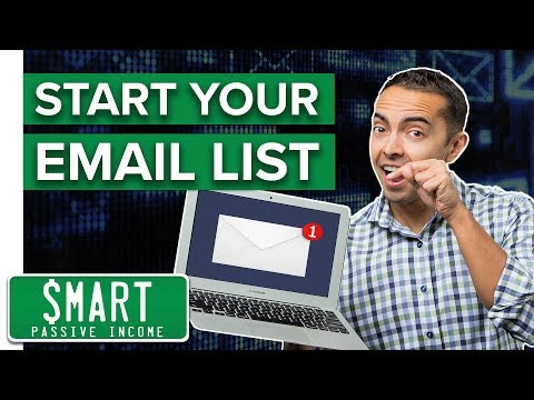 How to Start an Email List — Tutorial Video #1