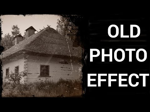 How to Make an Old Photo Effect in Adobe Photoshop