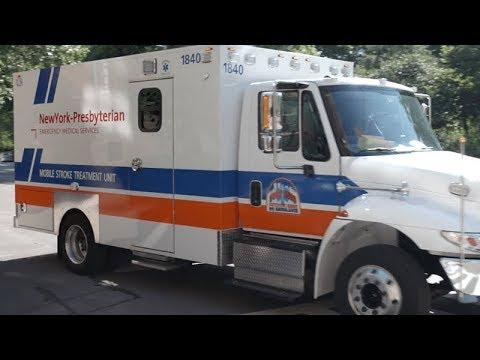 NYP Mobile Stroke Treatment Unit