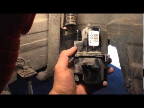 How to replace a fuel tank air filter on a 2010 Hyundai Elantra
