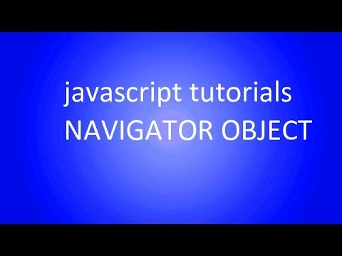 navigator object | browser name and version using javascript