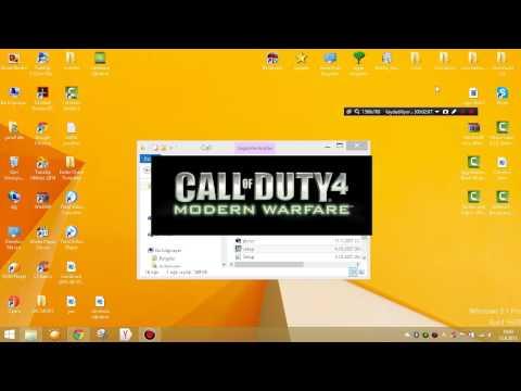Call of Duty 4 sorunsuz yükleme ve kurulum