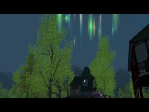 Sims 3 Alien Abduction~ I'M BEING ABDUCTED!