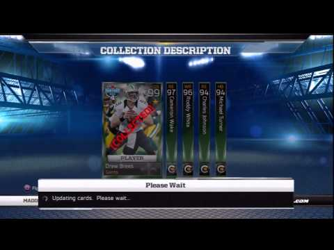 Week 4 Fantasy Collections DONE EA Sports Madden Ultimate Team 13 BHack3tt FF