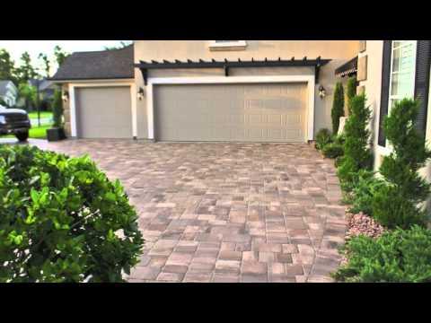 Jacksonville Brick Paver Driveway & Hardscape Installation Spotlight Video Moderna