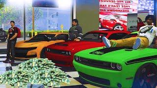 GTA 5 BOYS IN THE HOOD PART 2 'WE GOT NEW CARS!!'