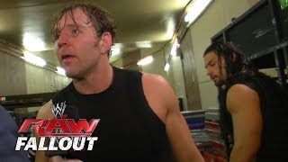 Crack in The Shield? - Raw Fallout - March 3, 2014