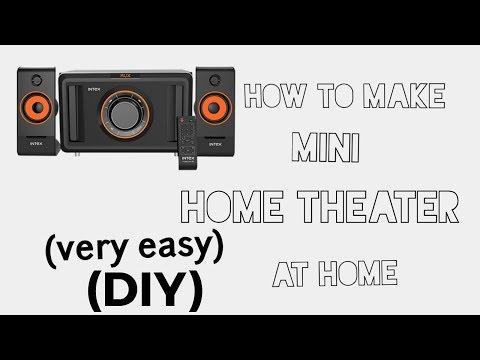 How to make mini home theater at home (Hindi)