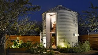 Newlywed Life In A Tiny Grain Silo Home