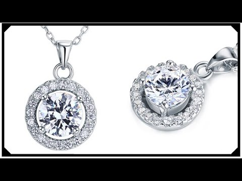 Cheap Diamond Necklace with Pendant Best web Shop for Buying Synthetic Diamond jewelry