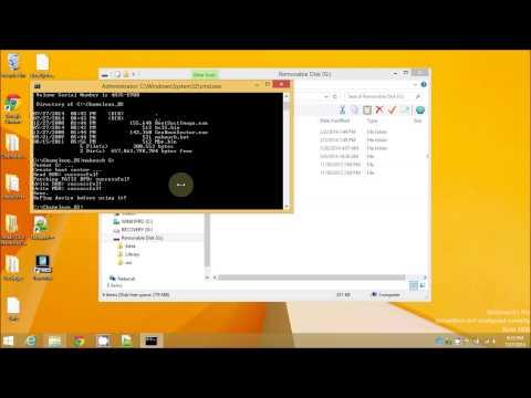 How To Create Clover USB Mavericks 10.9.4 Installation Boot Drive In Windows 8 1 No Mac