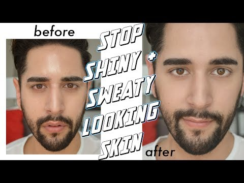 HOW TO STOP SWEATY + OILY SKIN IN SUMMER - Summer Skincare Routine Tips For Oily Skin ✖ James Welsh