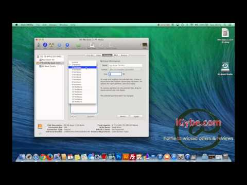 HowTo partition a 4T WD external HD on your mac
