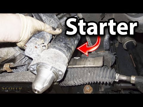 How to Test and Replace a Bad Starter in Your Car