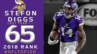 #65: Stefon Diggs (WR, Vikings) | Top 100 Players of 2018 | NFL