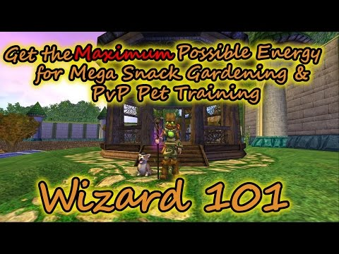Wizard101: Get the MAXIMUM Energy for Couch Potatoes & PvP Pets