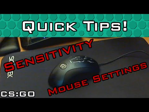 Finding Your Sensitivity and Mouse Settings
