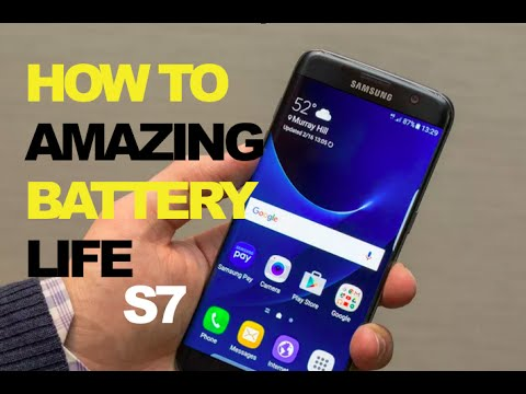 Hack INSANE Battery on GALAXY S7 W/O ROOT KNOX Disable BLOAT