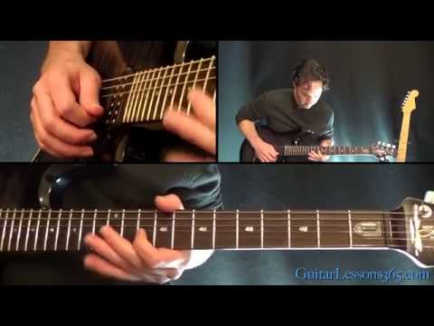 Slither Guitar Lesson Pt.1 - Velvet Revolver - Rhythm Guitar Parts